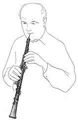 hautbois-hautboiste-posture-gainage-relaxation-décontraction musculaire
